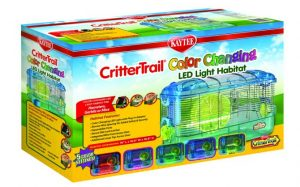 Kaytee Color-changing LED habitat